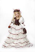 Декоративная фарфоровая кукла Леди Эджвер