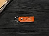 Брелок для ключей черный ручной работы VOILE vl-kch1-kgin