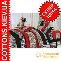 Комплект полуторного коттонового постельного белья ТМ Bella Donna 397