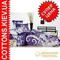 Комплект семейного постельного белья с мако-сатина Зимняя