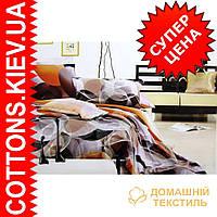 Комплект семейного постельного белья с мако-сатина Фигура