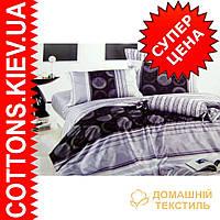 Комплект семейного постельного белья с мако-сатина Фантазия