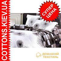 Комплект семейного постельного белья с мако-сатина Одуванчик