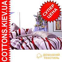 Комплект семейного постельного белья с мако-сатина Лента