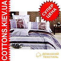 Комплект семейного постельного белья с мако-сатина Утренняя кор.