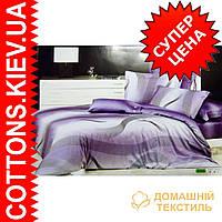 Комплект семейного постельного белья с мако-сатина Лунная