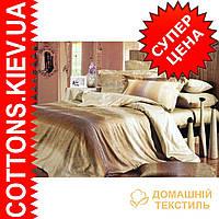 Комплект полуторного постельного белья из египетского хлопка 4062A