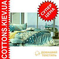 Комплект полуторного сатинового  постельного белья ТМ Kunmeng