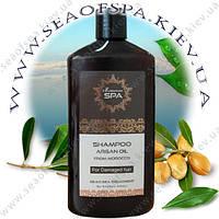 Шампунь с марокканским маслом для поврежденных волос 500мл.