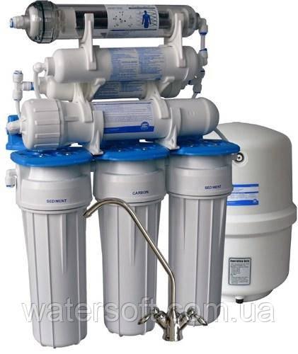 Система очистки воды Aquafilter FRO8JGM Голубая Лагуна 7