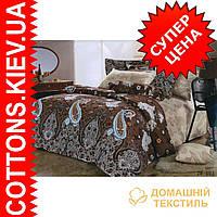 Комплект полуторного постельного белья (сатин de lux) с элементами Swarovski