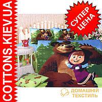 Комплект полуторного постельного белья Маша и Медведь ТМ KESSAR POLLO