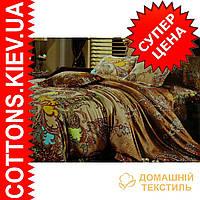 Комплект полуторного постельного белья из египетского хлопка 162