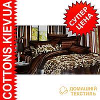 Комплект полуторного постельного белья из египетского хлопка 5069