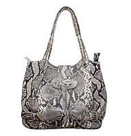 Женская сумка из кожи питона (PT 902 Natural)