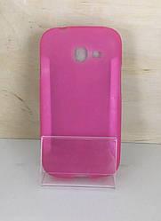 Силиконовый чехол для Samsung S7262 Star plus (Pink)