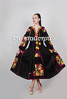 Вышитое платье  бохо вышиванка лен, 4 клина,этно, бохо-стиль, вишите плаття вишиванка, Bohemian,стиль Вита Кин