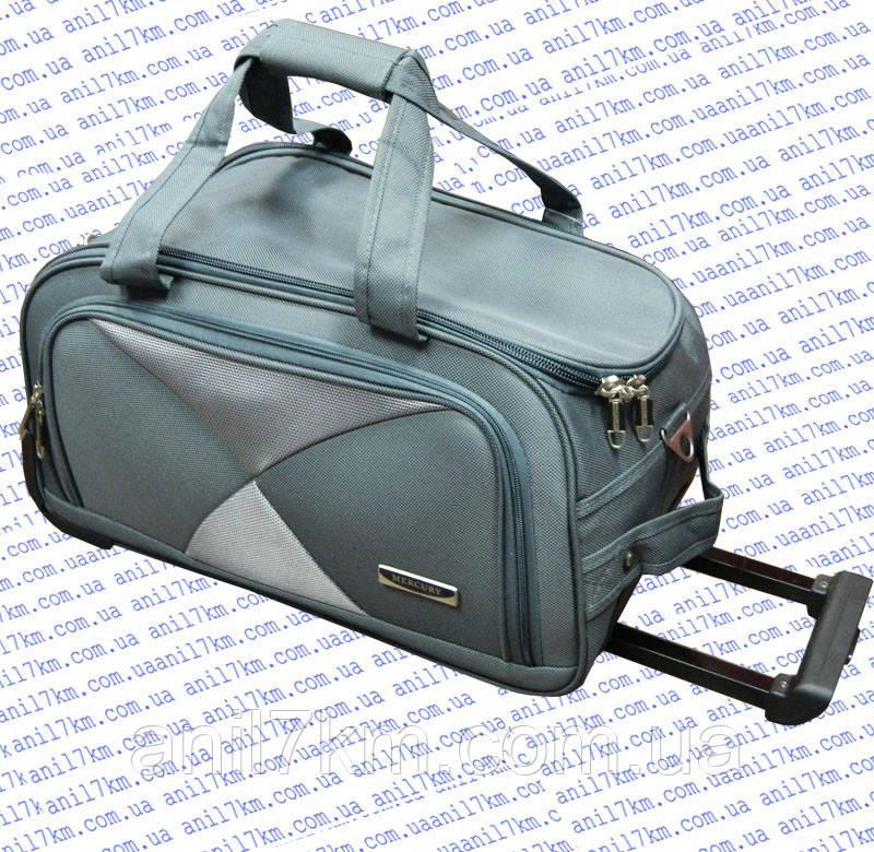84c29217dd2d Малая сумка-ручная кладь 48см.на колёсах MERCURY, цена 799,96 грн., купить  в Одессе — Prom.ua (ID#529415990)