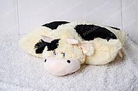 Игрушка подушка трансформер Корова с пятном 47 см