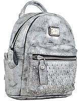"""Сумка - рюкзак Weekend """"YES"""", темно-сіра 553229"""