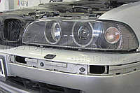 "BMW 5 (E39) - замена моно линз Hella D2S на би-ксеноновые линзы Moonlight ULTRA G6/Q5 3,0"" (⌀76мм) D2S/D4S"