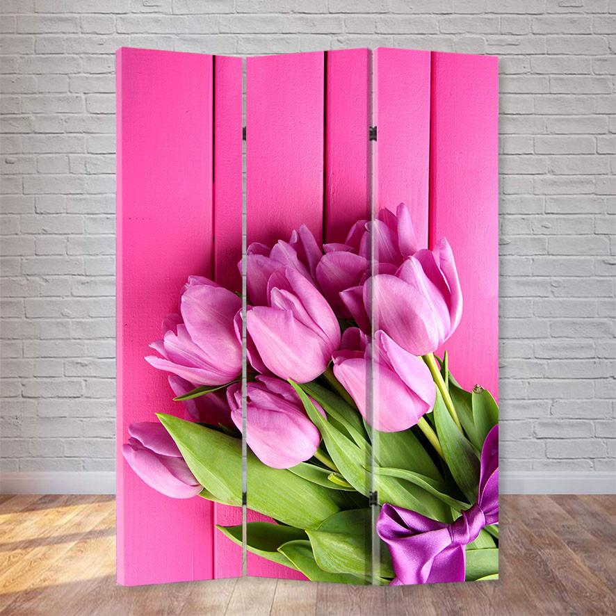 "Ширма ""Розовые тюльпаны"""