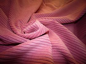 Вельвет крупный светло-розовый
