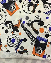 Ангора (без начеса)  панда оранжевый