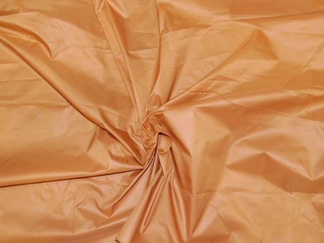 Плащевка лаке светло оранжевая