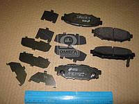 Колодка тормозная SUBARU LEGACY 2.0 2.5 03-, OUTBACK 2.5 03- задн. (производство REMSA) (арт. 1136.12), ADHZX