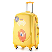 Ударопрочный пластиковый большой чемодан Ambassador A8503