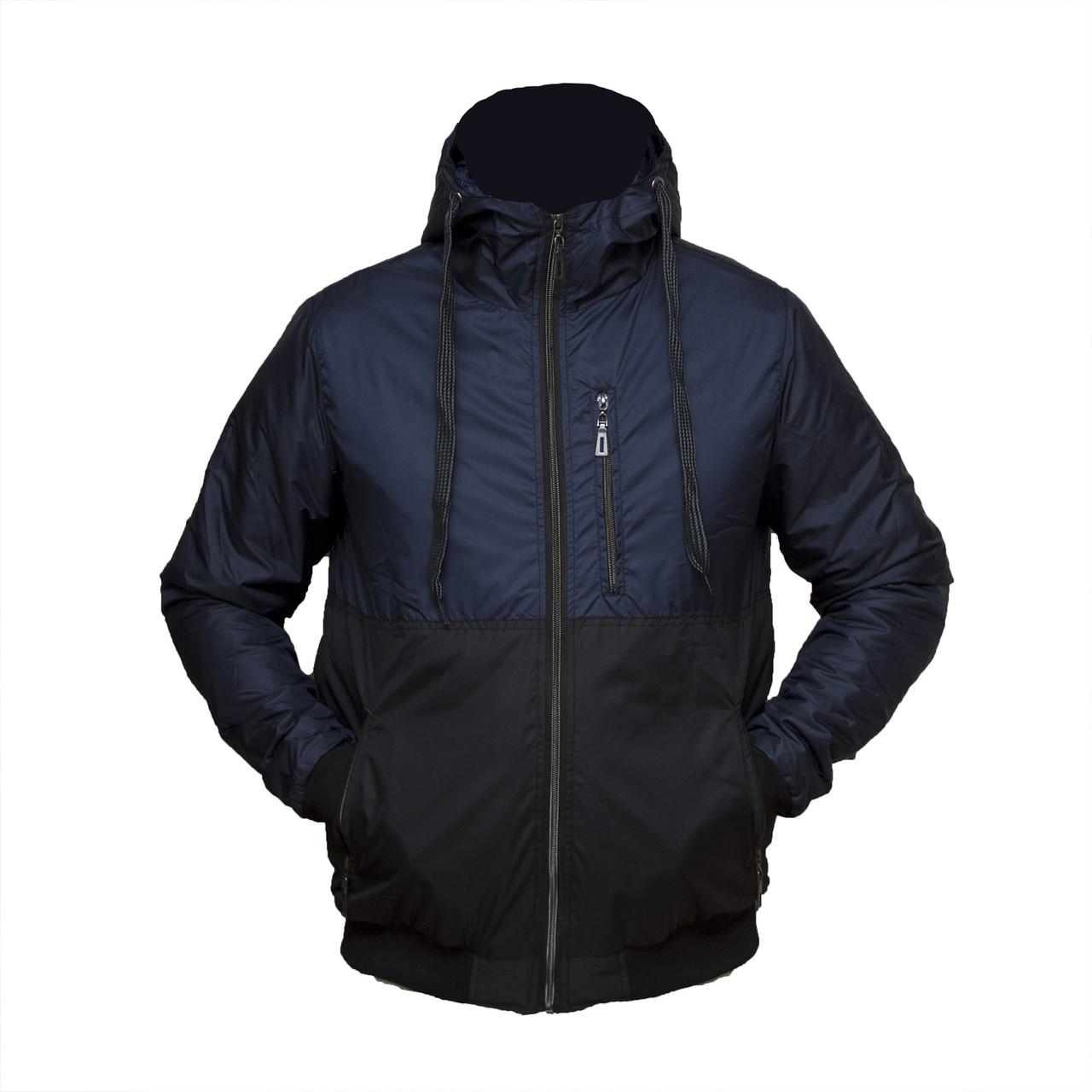 Чоловіча темно-синя куртка пр-во. Україна від виробника KD455