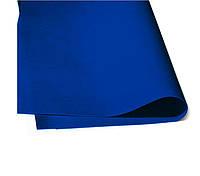 Фоамиран Зефирный Темно-синий 50х50 см, 1 мм Китай