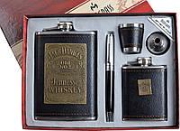 Подарочный набор 5 в 1: фляги/стопки/лейка/ручка