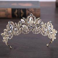 Свадебная корона диадема ДАНИЭЛЬ тиара для волос