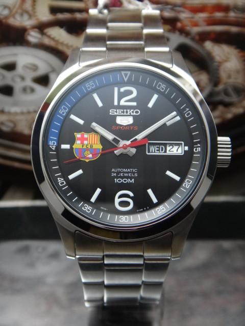 Часы Seiko 5 Sports SRP301K1 Automatic 4R36 FC Barcelona