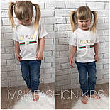 """Детская модная футболка """"Gucci"""" (2 цвета), фото 2"""