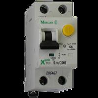 Дифференциальный автоматический выключатель Eaton (Moeller) PFL6-25/1N/C/003