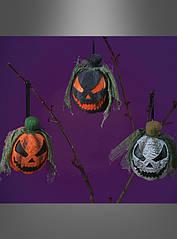 Тыква для декорирования комнаты на Хэллоуин