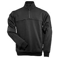"""Реглан тактический """"5.11 1/4 Zip Job Shirt"""" (чёрный)"""