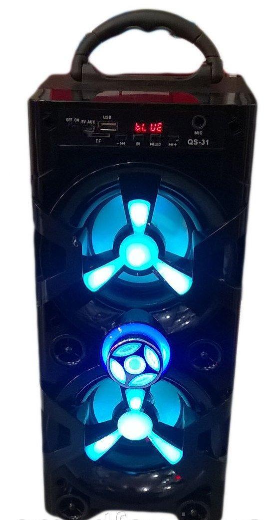 Портативная комбо-акустика QS-31