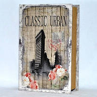 """Книга-сейф """"Classic Urban"""" на ключике 330-37"""