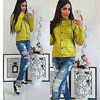 Куртка женская,  модель 205, оливка, фото 1