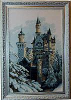 Набор для вышивки крестом Замок зимний М-98 (А-151)
