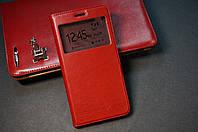 Чехол книжка для Huawei Y6 II Honor 5A (Y6 2) цвет красный