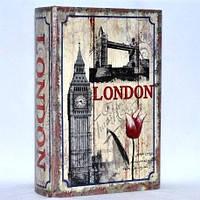 "Книга-сейф ""Лондон"" на ключике 330-33"