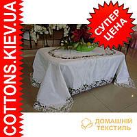 Скатерть на квадратный стол 180*180GR-13N79-1букет ромаш