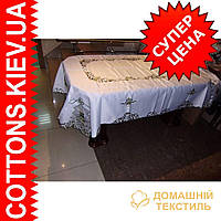 Скатерть на роздвижной стол 160*240 GR-DA97624