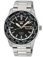Часы Seiko 5 Sports SRP127K1 Automatic 4R36 Worldtime, фото 1