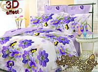 Комплект постельного белья поликоттон ТМ Sveline Tekstil (Украина) полуторный PC12135